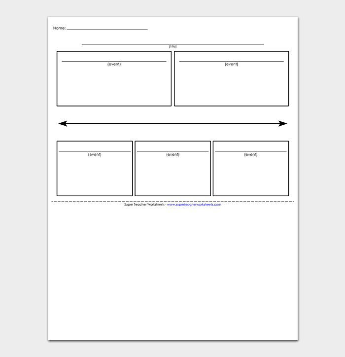 Sports Timeline Template For Kids