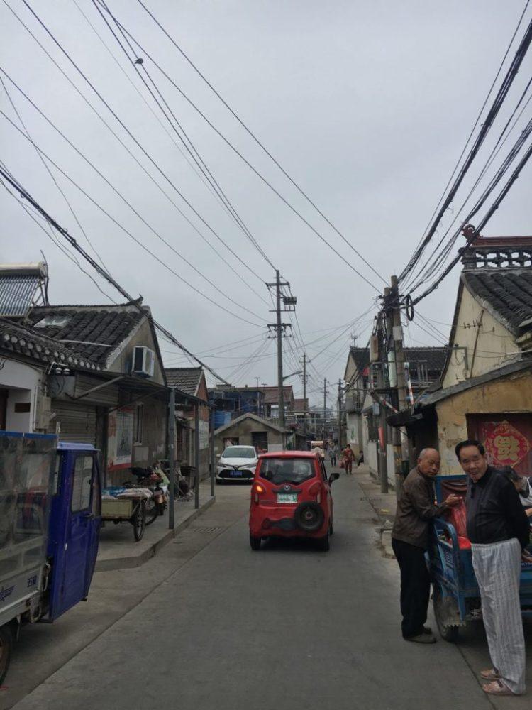 高邮人民路之街景