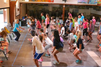 dance workshop with national dance institute