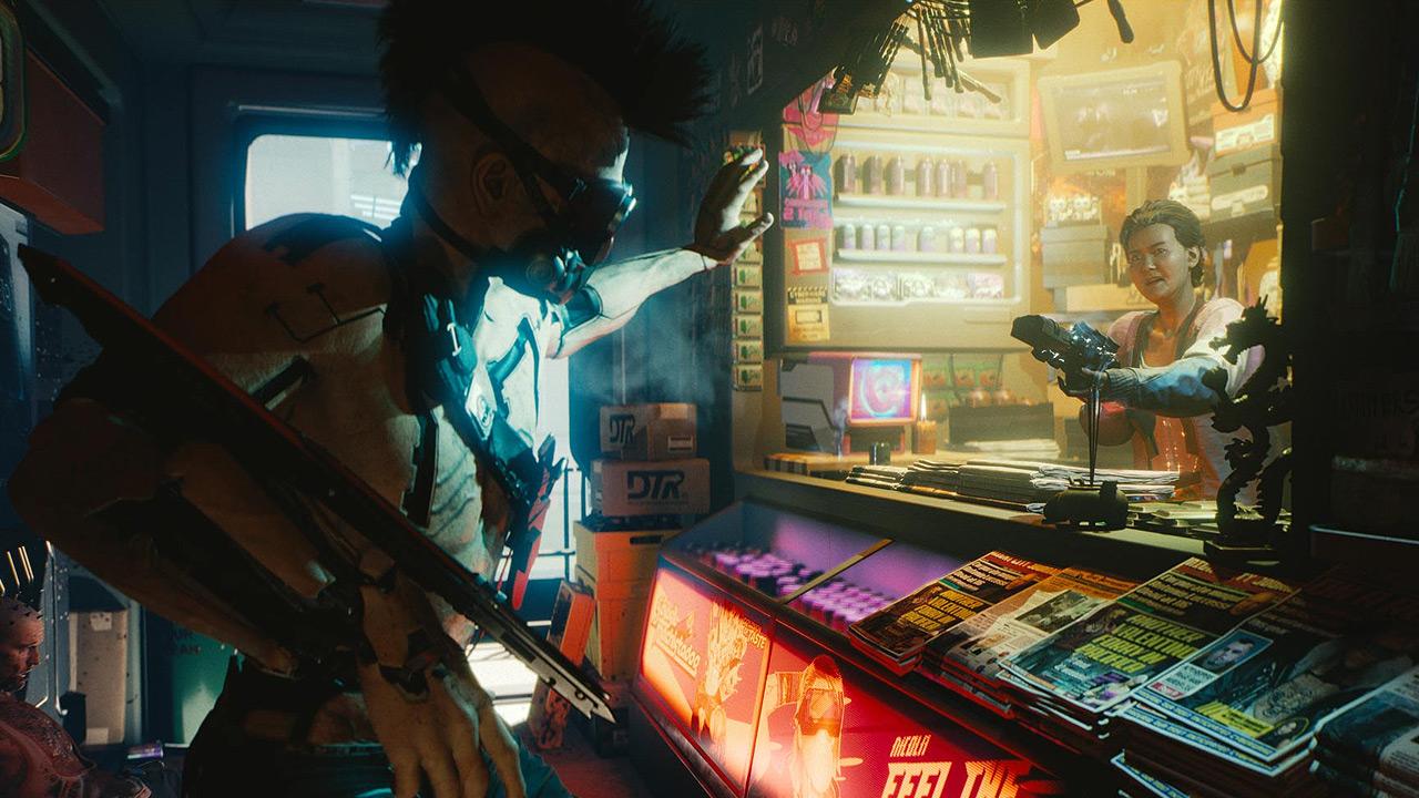 E3 2018 Cyberpunk 2077
