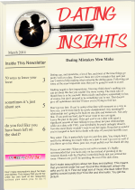 Dating Insights Newsletter March 2014