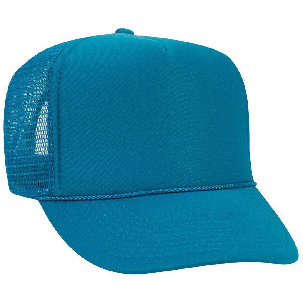 TurquoiseMeshBackFoamTrucker