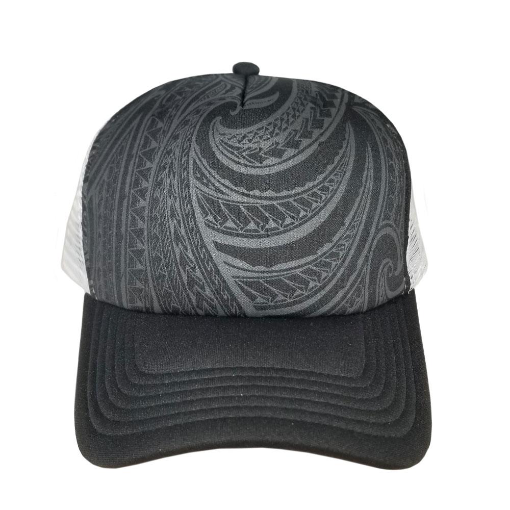 Tribal-Gray-Foam-Trucker-Front-Hat
