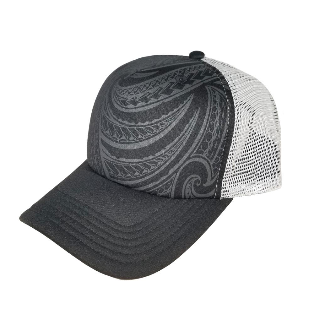 31c93ae0 Home / All Hats / Foam Truckers / Floral Truckers / Blank Hat: Tribal  Pattern / White Mesh Foam Trucker (Large/Adult ...