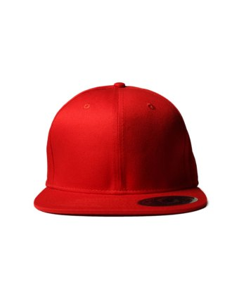 Solid-Red-Snapback