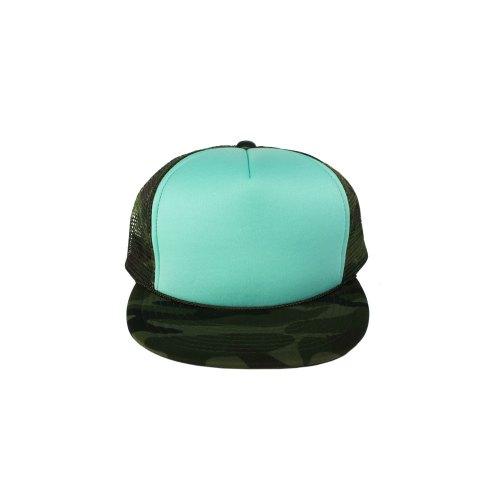 Mint-Camo-Snapback