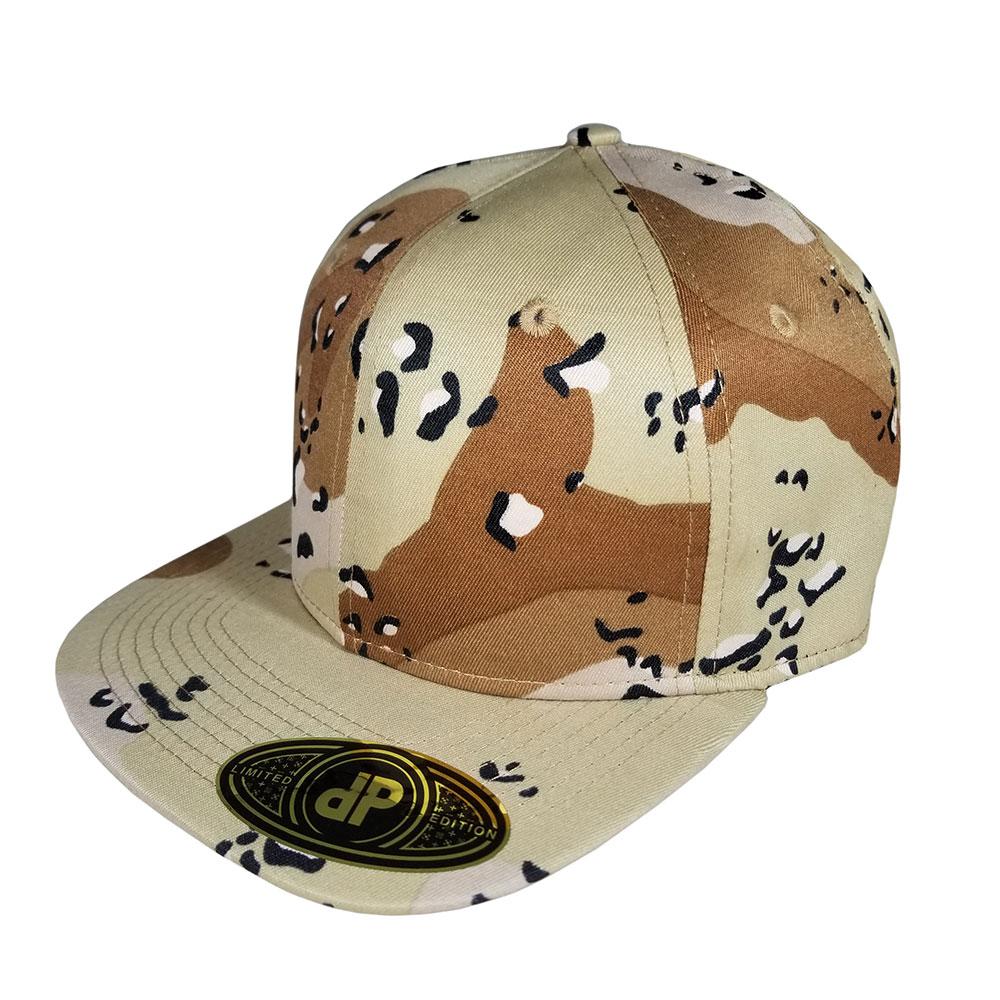 ae318678c12 Blank Hat Snapback Flatbill  Desert Camo – Double Portion Supply