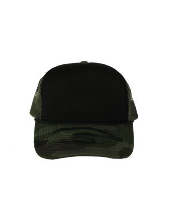 Black-Camo-Foam-Trucker