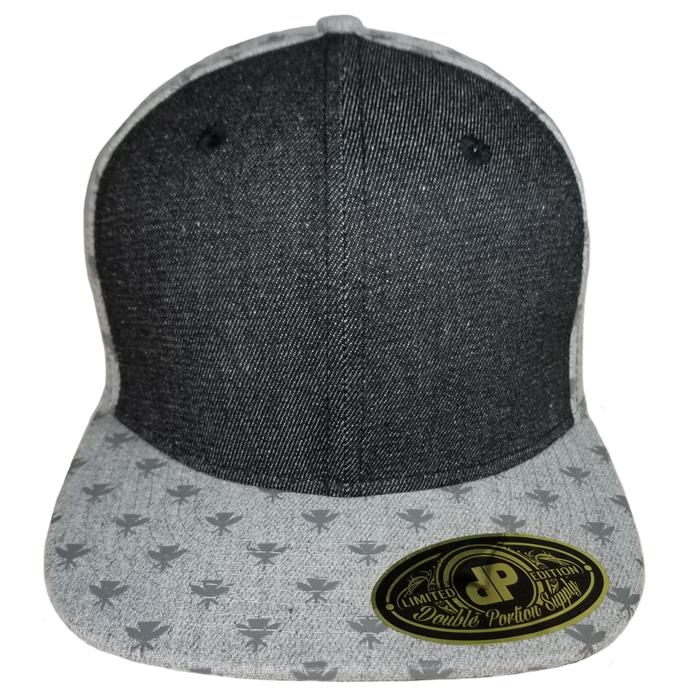 Kahili-Denim-Flatbill-Snapback