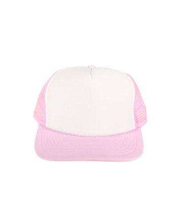 White-Light-Pink-Foam-Trucker
