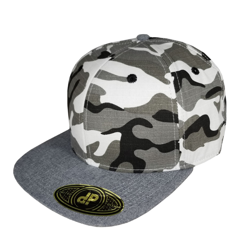 Snow-Camo-Denim-Bill-Flatbill-Snapback-Hat