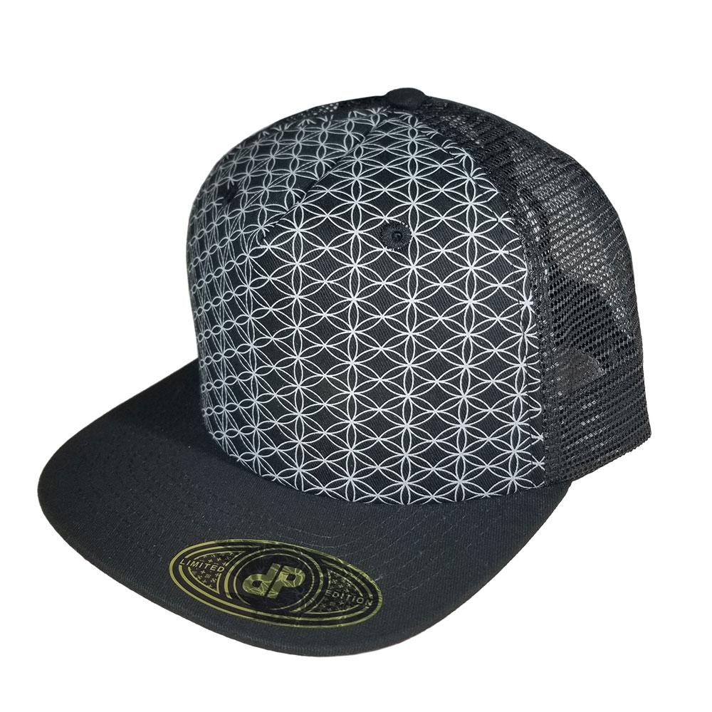 Sacred-Geometry-Mesh-Snapback-Hat