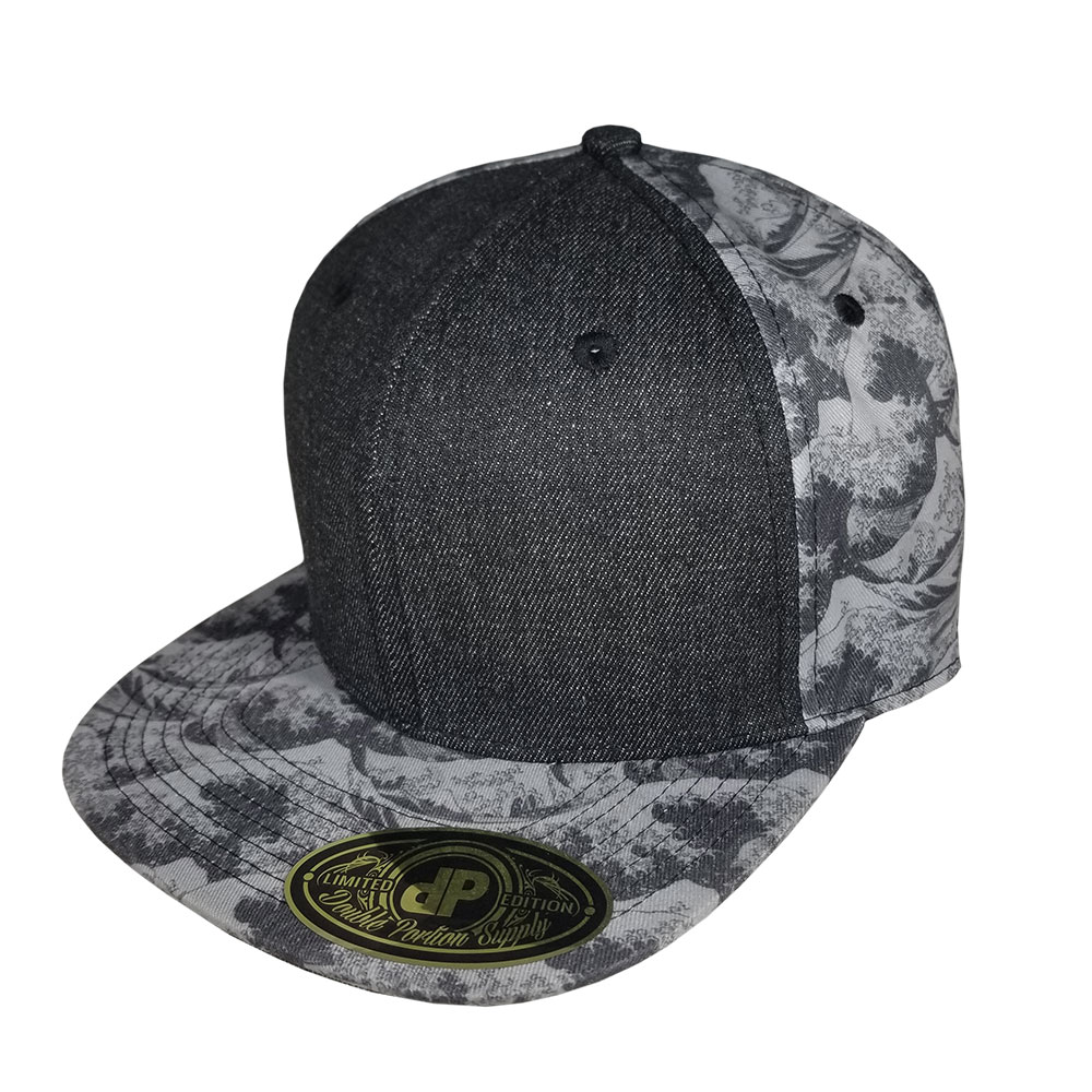 Japanese-Wave-Denim-Snapback