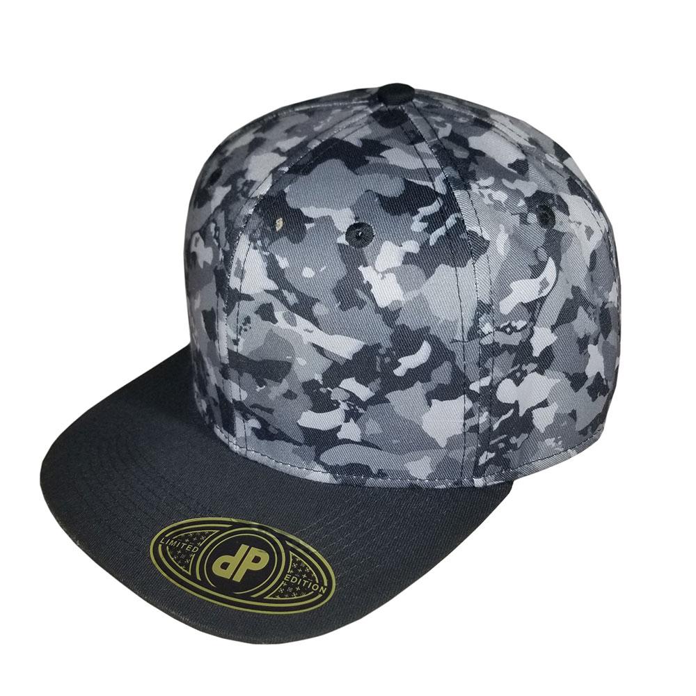 7cedecf5cc8 Blank Hat Snapback Flatbill  Dark Island Camo   Black Bill