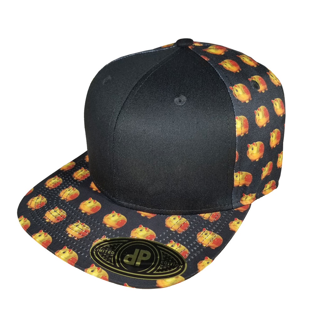 Year-of-The-Pig-Flatbill-Snapback-Hat
