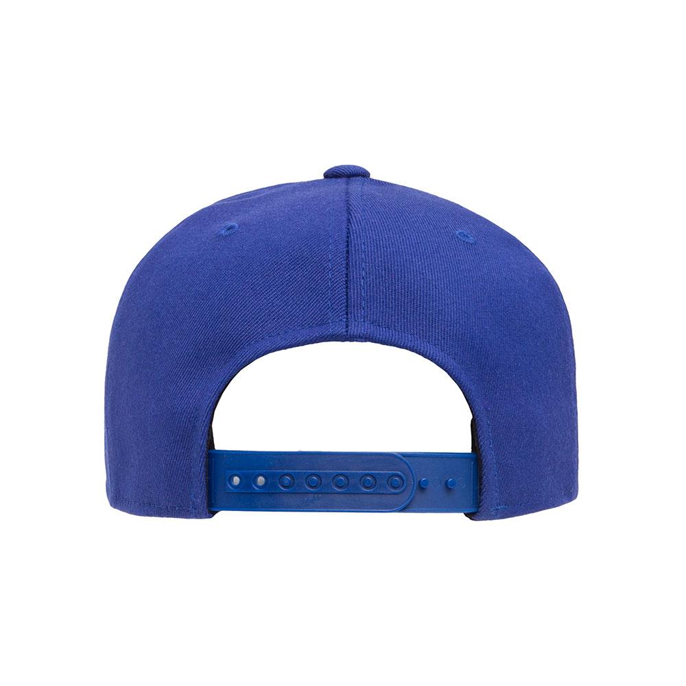 Flexfit-110F-Flatbill-Snapback-Royal-Hat-back