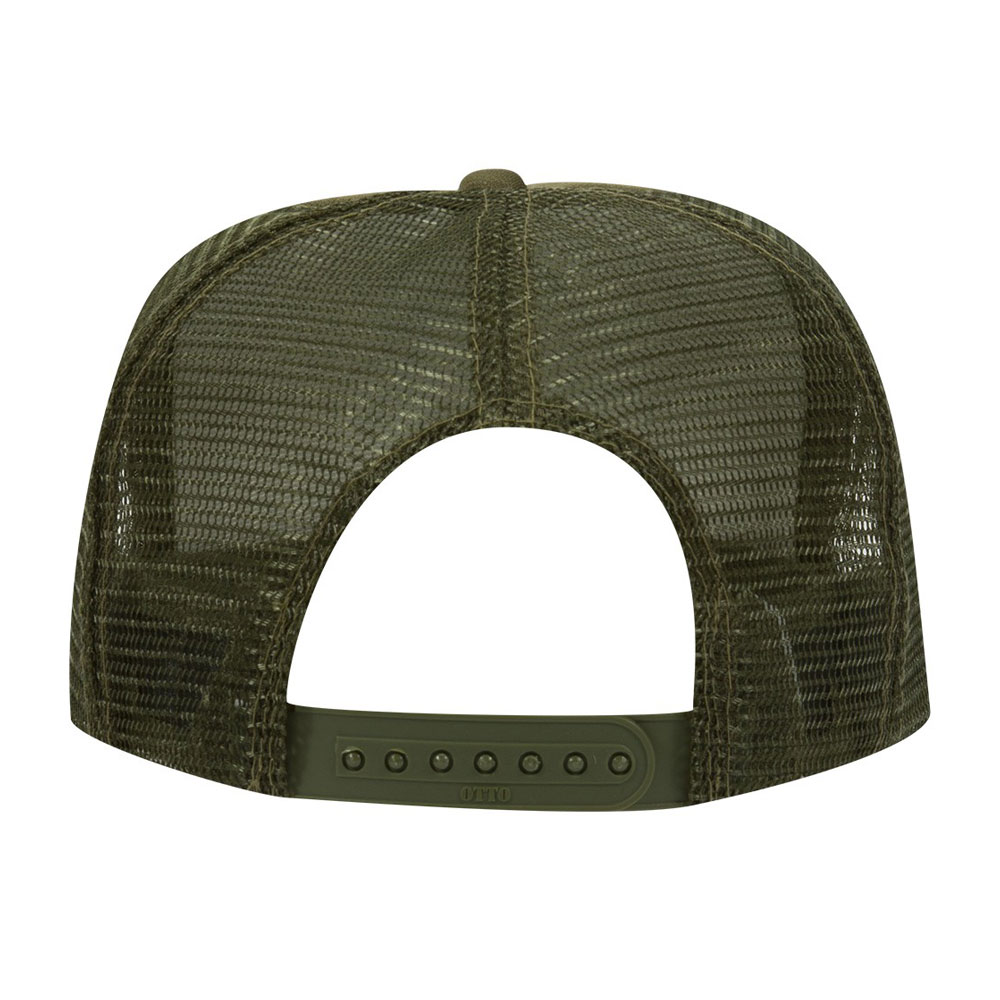 Olive-Green-Foam-Trucker-Adult-back