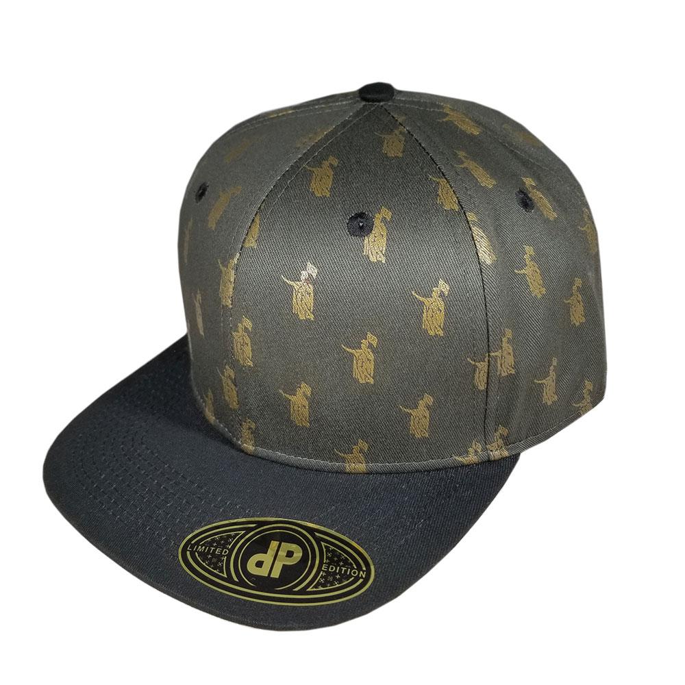 King-K-Reach-Brown-Black-Gold-Snapback-Flatbill-Hat