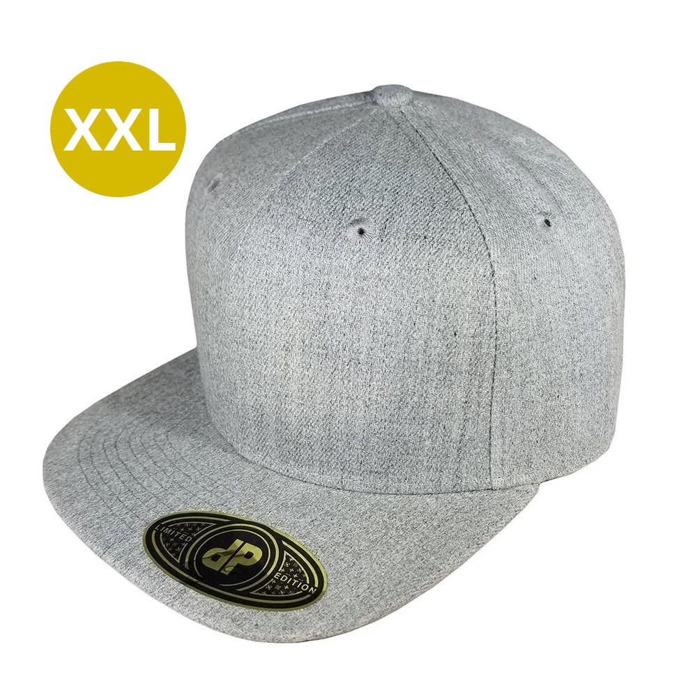 snapback-flatbill-heather-62cm-xxl