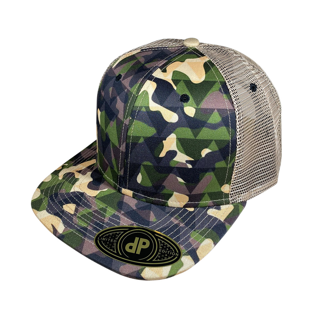 snapback-flat-bill-woodland-triangles-camo-mesh