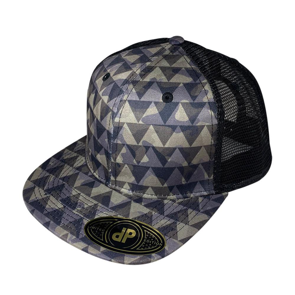 snapback-flat-bill-dark-camo-triangle-mesh