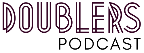 Logo for Doublers Podcast
