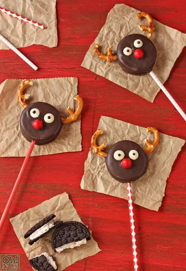 25 Easy Christmas Treats for Kids Reindeer Niche