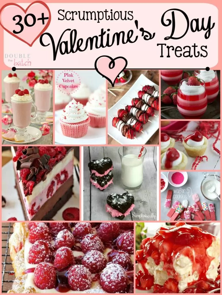 I'm drooling over all these amazing Valentine's Day Treats!