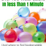 How to Fill & Tie Over 100 Water Balloons in a Minute