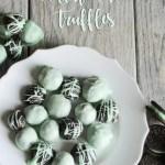 3 Ingredient Mint Oreo Truffles