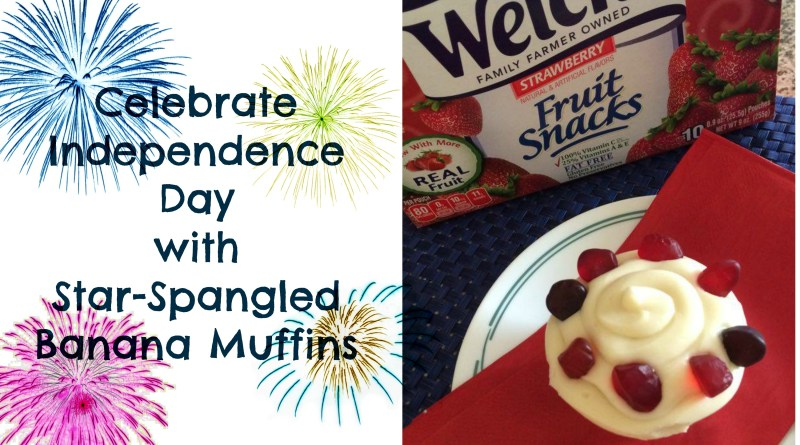 Star Spangled Banana Muffins