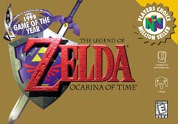 Zelda Ocarina of Time Boxart