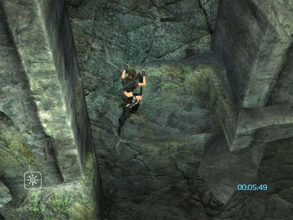 Lara Climbing