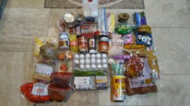 SNAP Food Stamp Challenge Week 2 Remaining