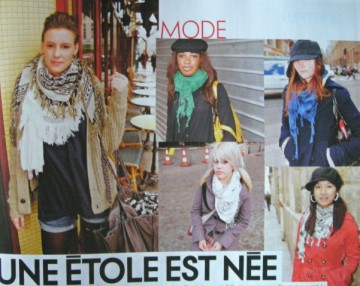 Fashion victims in de rigueur keffieh