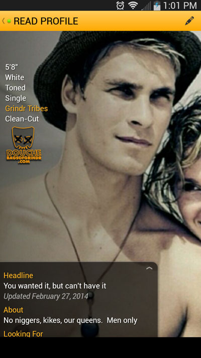 Grindr tribe clean cut meaning