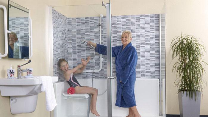 Douches Senior Une Douche Accessible Sur Mesure