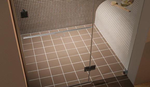 trouvez un siphon de sol pour douche italienne. Black Bedroom Furniture Sets. Home Design Ideas