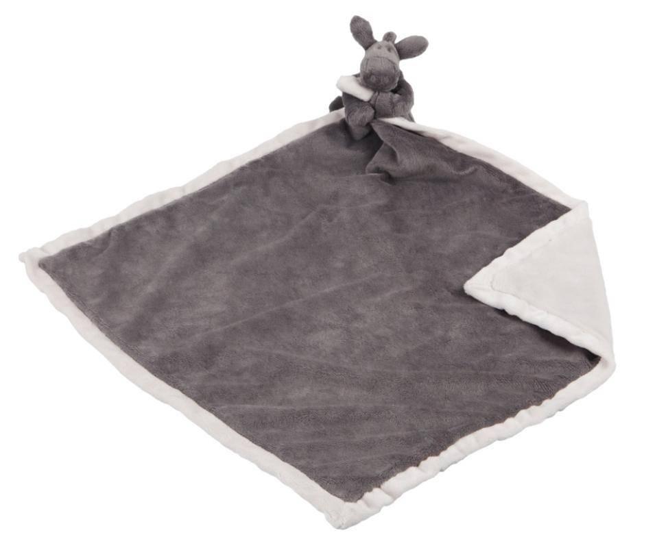 noukies doudou couverture ane paco poudre d etoiles 50x50 cm livraison gratuite 24 48h