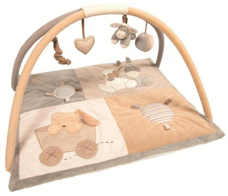 nattou tapis eveil cappuccino doudouplanet livraison gratuite 24 48h