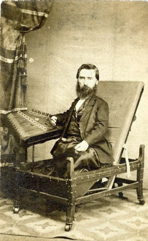 S. Hunter Smith Hammered Dulcimer Player Born In 1828