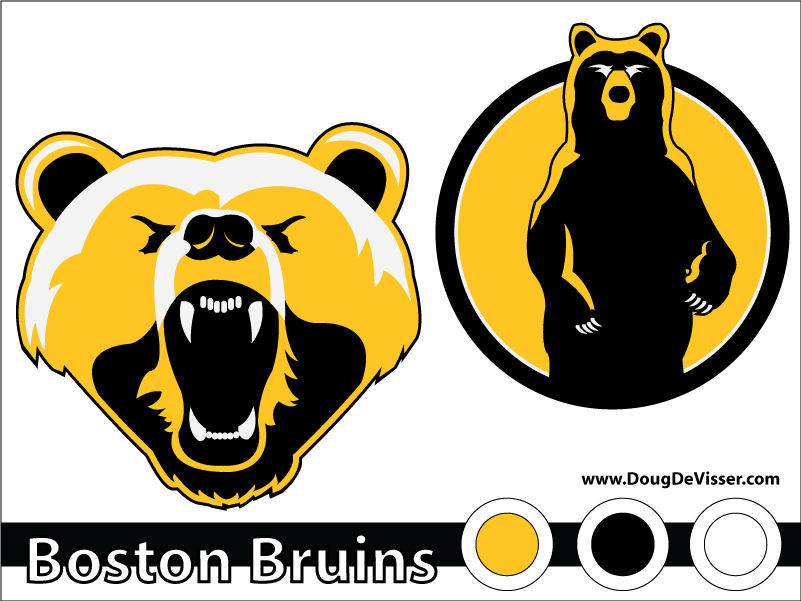 2010 NHL rebranding - Boston Bruins