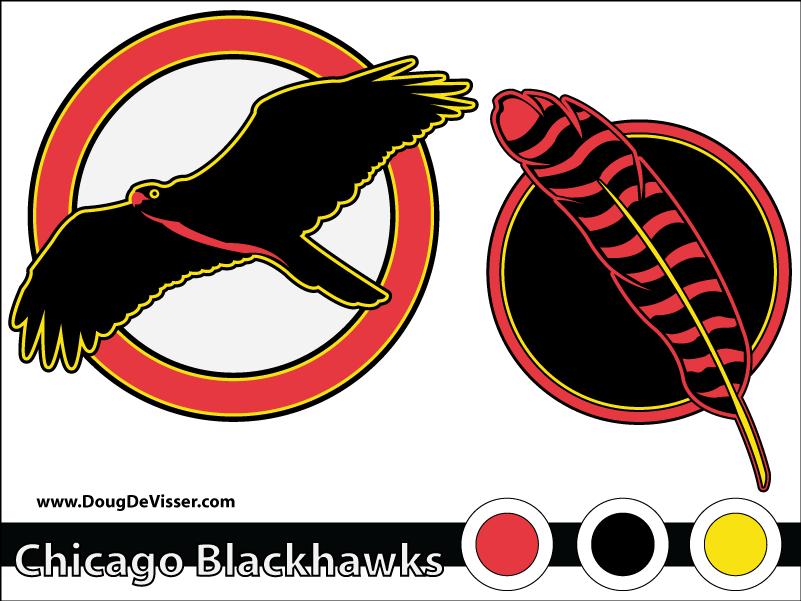 2010 NHL rebranding - Chicago Blackhawks