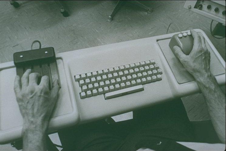 Keyboard, chorded keyset, mouse