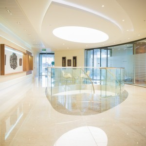 Image of 10 Portman Square office, London, photographed for client Cre8 Joinery Solutions Ltd.