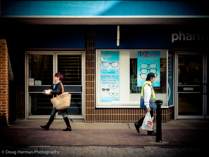 Street shoppers.