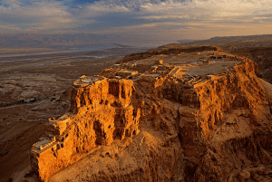 Image of Masada, ancient stronghold in Israel