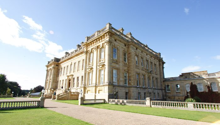 Wedding Photograph of Heythrop Park, Oxfordshire