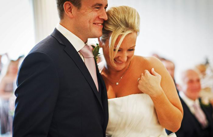 Wedding Photograph - bride and groom - Coworth Park, Ascot