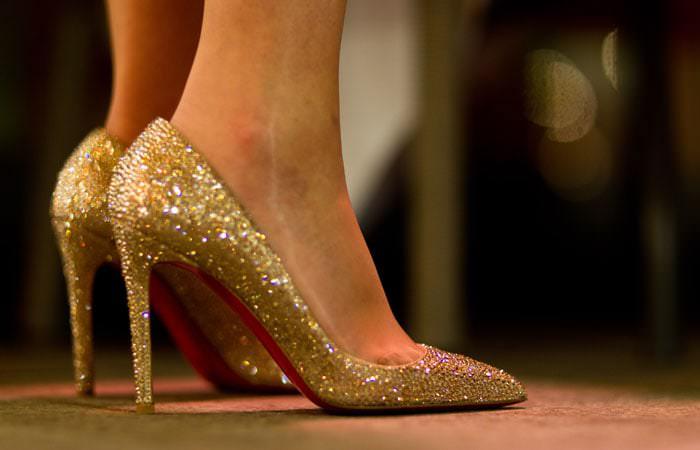 Photograph Wedding - Louboutin Shoes
